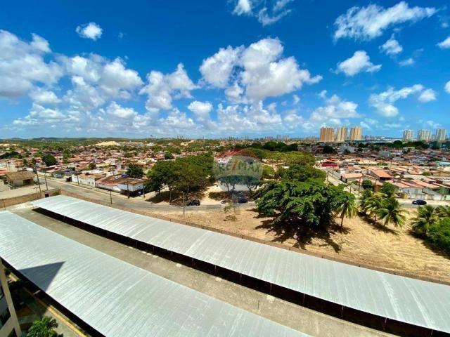 Apartamento com 2 dormitórios à venda, 59 m² por r$ 190.000 - pitimbu - natal/rn sun garde - Foto 3