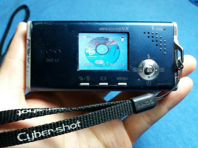 Câmera Digital Sony Cyber-Shot DSC-L1 - Foto 4