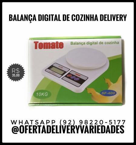Balança digital com tara delivery 10kg