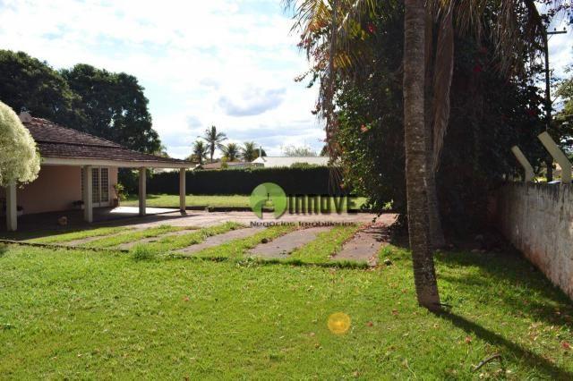 Chácara com 4 dormitórios à venda, 2450 m² por r$ 600.000 - condomínio estância beira rio  - Foto 10