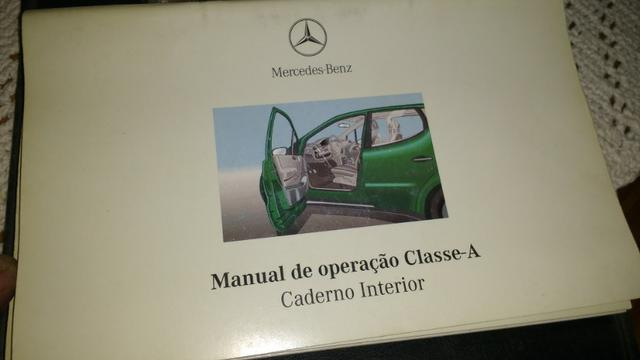 Manual do proprietário Classe A Mercedes Benz W168 - Foto 3