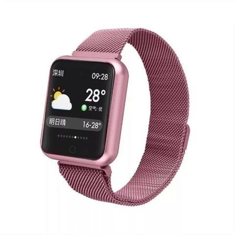 Relógio Smartwatch Sport Bracelet P70 Com Duas Pulseiras - Foto 4