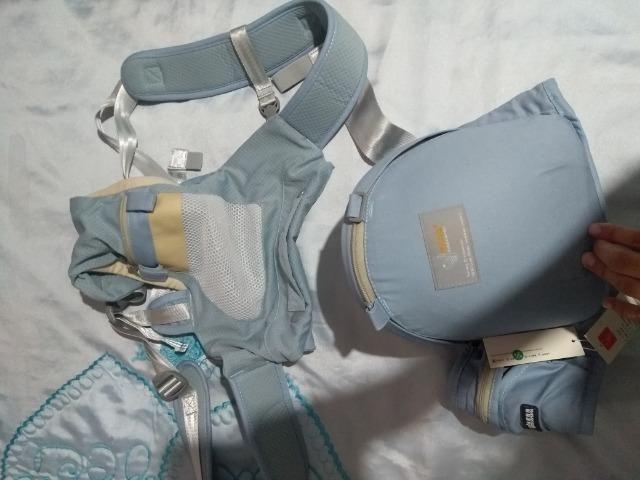 Canguru ergonômico e Moisés de bebê - Foto 5