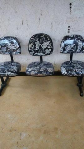 Vendo essas cadeiras de espera - Foto 5