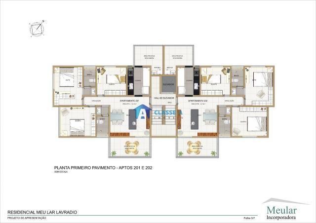 Cobertura à venda com 3 dormitórios em Alto dos pinheiros, Belo horizonte cod:1609 - Foto 2