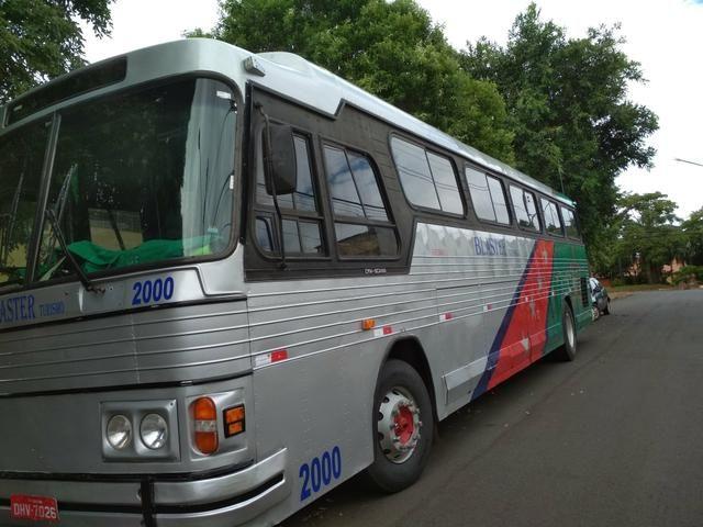 Vendo ou troco ônibus dinossauro cma cometa 95/96 pego caminhonete carro - Foto 7
