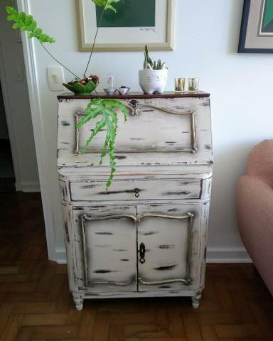 Laqueação e pinturas especiais em móveis de madeira - Foto 5