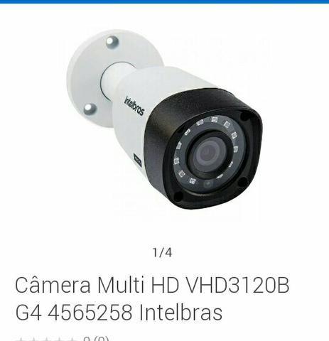 Vendo câmera intelbras e estalo