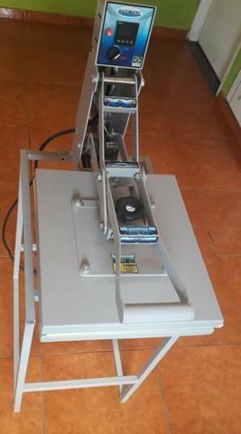 Prensa térmica de estampar 40x35 - Foto 2