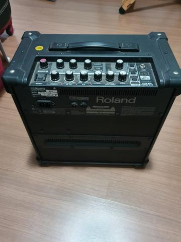Roland Gx20 com pedaleira integrada - Foto 3