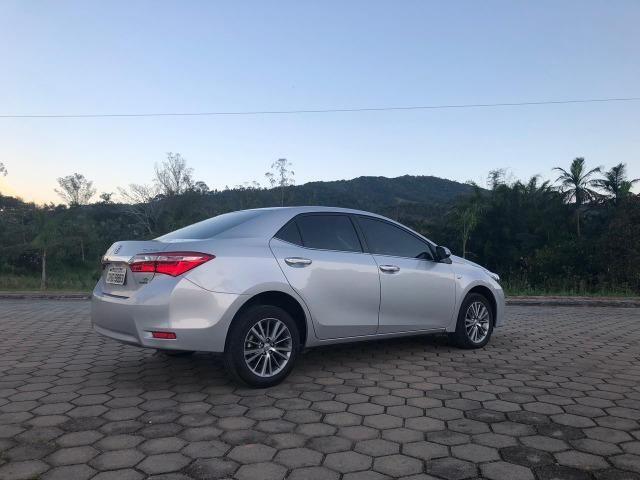 Toyota Corolla Altis Top de linha Único dono Baixo KM - Foto 4