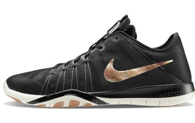 half off 0e2ee 49f92 Tênis Nike Free Tr 6 Rose Gold
