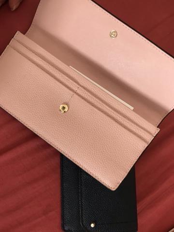 73b04c3a1 Carteira de mão bolsa dinheiro feminina couro Michael kors MK importada  nova porta cartão