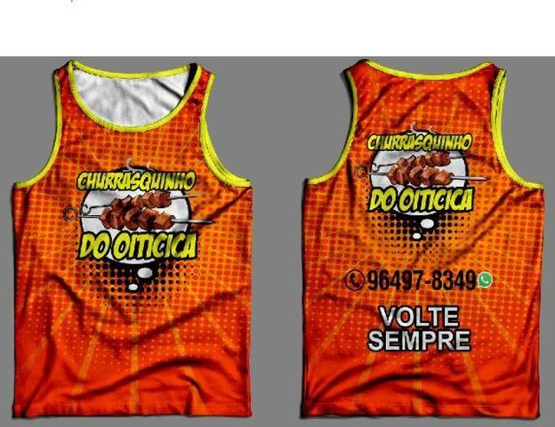 6d3a7844eb Camiseta Regata Helanca Personalizada - Roupas e calçados - Campo ...