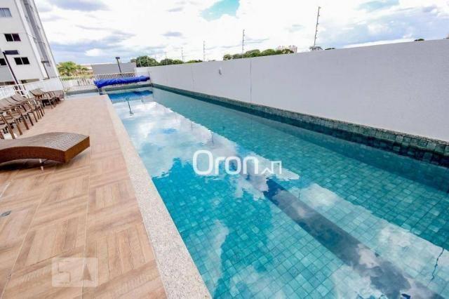 Apartamento com 2 dormitórios à venda, 56 m² por R$ 258.000,00 - Vila Rosa - Goiânia/GO - Foto 15