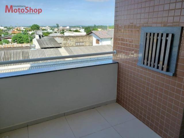 Apartamento com 2 dormitórios para alugar, 74 m² por R$ 1.000/mês - Mato Alto - Araranguá/ - Foto 8