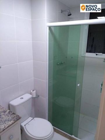 Apartamento com 2 dormitórios à venda, 53 m² por R$ 235.000 - Centro - Campos dos Goytacaz - Foto 7