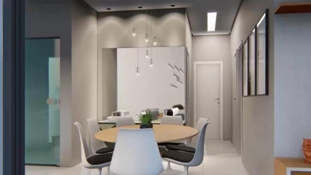 Casa pronta em condomínio fechado: 3 dormitórios #closet #área gourmet #porcelanato - Foto 4