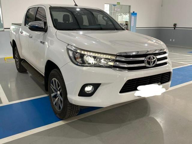 Toyota Hilux 2018/2018 SRX Branca