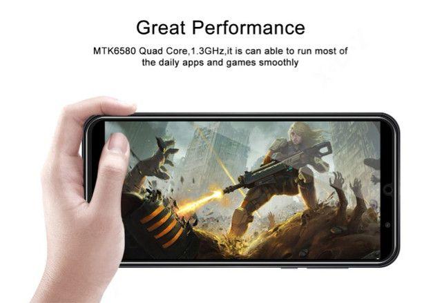 Xgody s20 mini 3g smartphone 1gb ram 4gb rom android 9.0 sim duplo 5.5 tela 5mp câmera - Foto 3