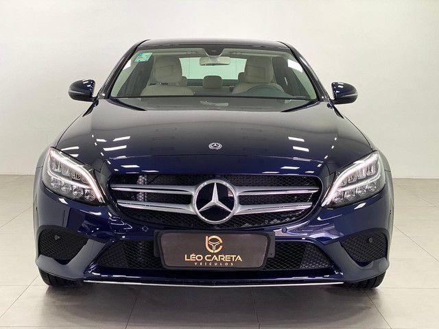 Mercedes c-180 2020 c/500km. igual a zerokm. léo careta veículos - Foto 3