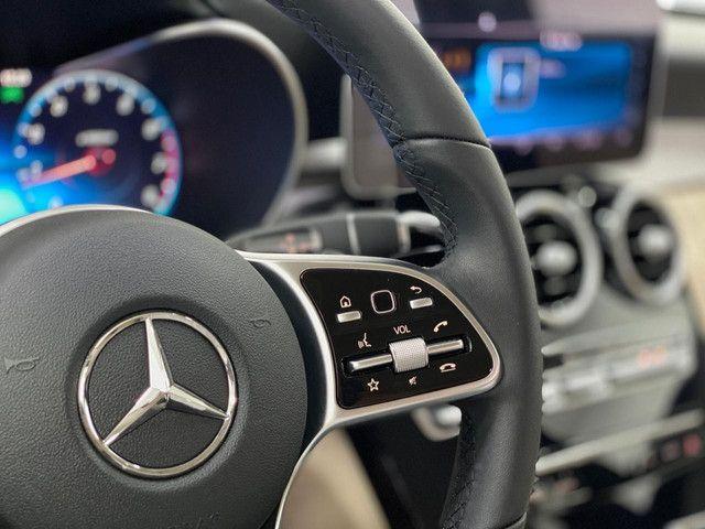 Mercedes c-180 2020 c/500km. igual a zerokm. léo careta veículos - Foto 16