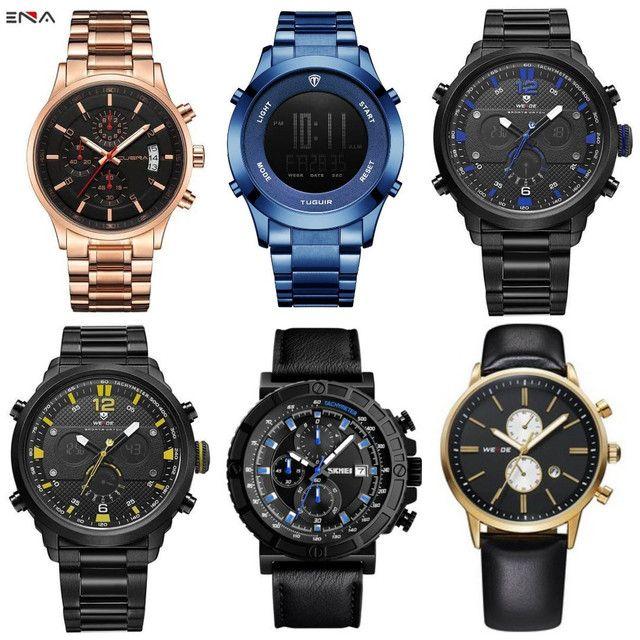 Relógios masculinos originais exclusivos - Foto 5