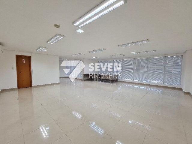 Sala com 91m2 no Edifício Atlantic Tower, Av. Djalma Batista, pronto para usar