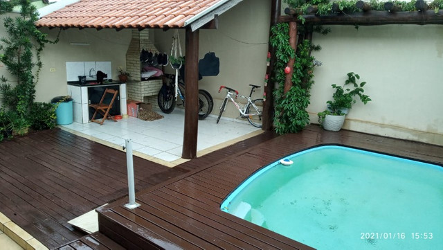 Linda Casa Condomínio Arara Azul Jardim Tijuca com Piscina - Foto 2