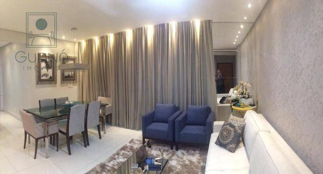Apartamento com 3 quartos / suítes à venda, 132 m² por R$ 850.000 - Jardim das Américas -  - Foto 2