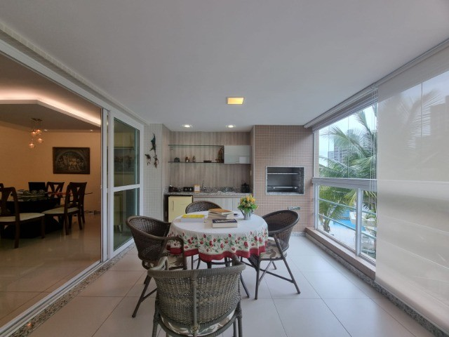 Incrivel apartamento 3 suítes, varanda gourmet, nascente, na Barra - Foto 4