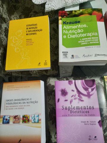 Livros de nutrição, vendo individual também - Foto 4