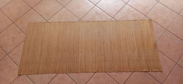 Esteira de palha de arroz - tamanho 2,3 x 0,9 - Foto 3