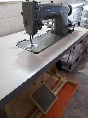 Máquina semi industrial, costura reta  - Foto 4