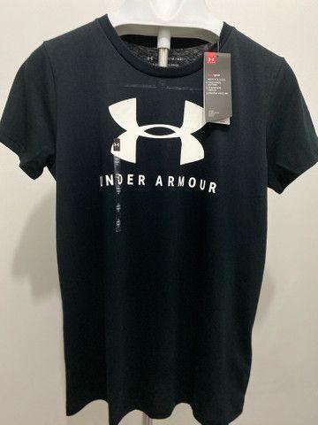 Camiseta Feminina Under Armour M