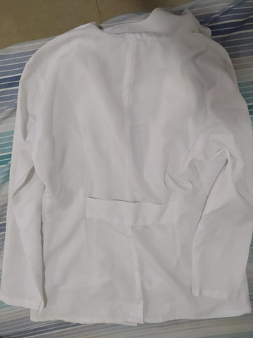 Jaleco branco unissex - Foto 2