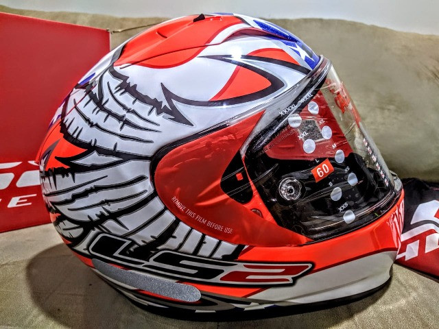 Capacete LS2 FF323 Arrow R Freedom - Foto 3