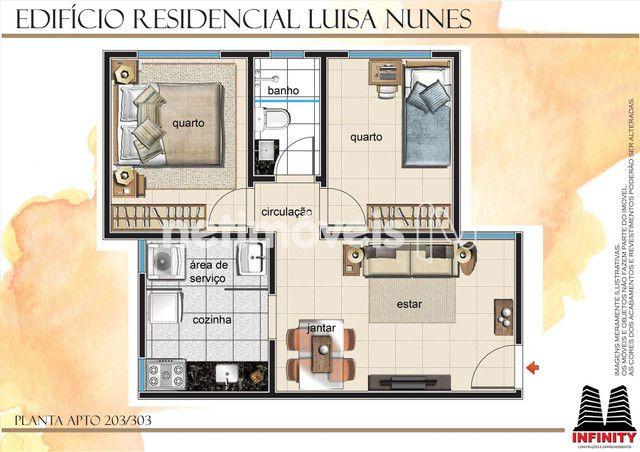 Apartamento à venda com 2 dormitórios em Santa mônica, Belo horizonte cod:798018 - Foto 8