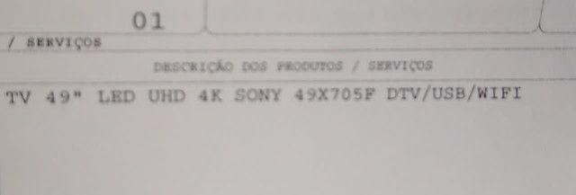 Vendo tv smart 49 polegadas 1500 - Foto 2