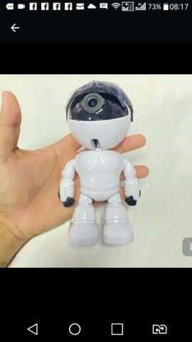 Cãmera Ip robô nova na caixa - Foto 4