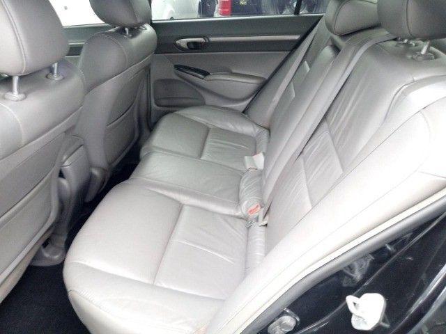 Honda Civic lxl 1.8 cinza 16v flex 4p aut. - Foto 7