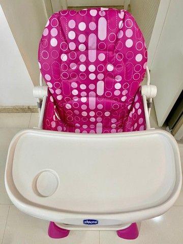 Cadeira alimentação Pocket Lunch pink  Chicco - Foto 4