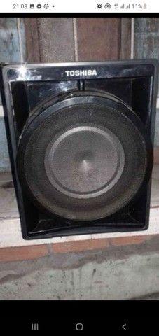 Aparelho com caixas de som