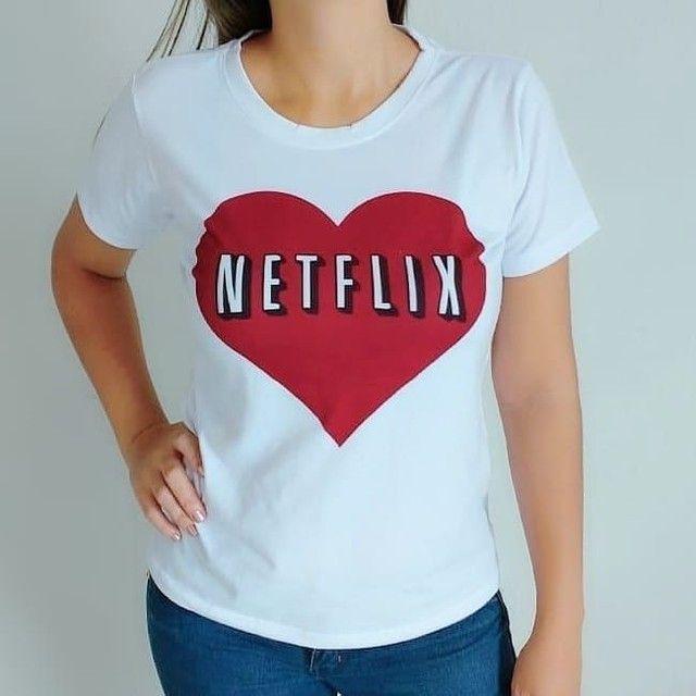 Camisetas feminina - Foto 4