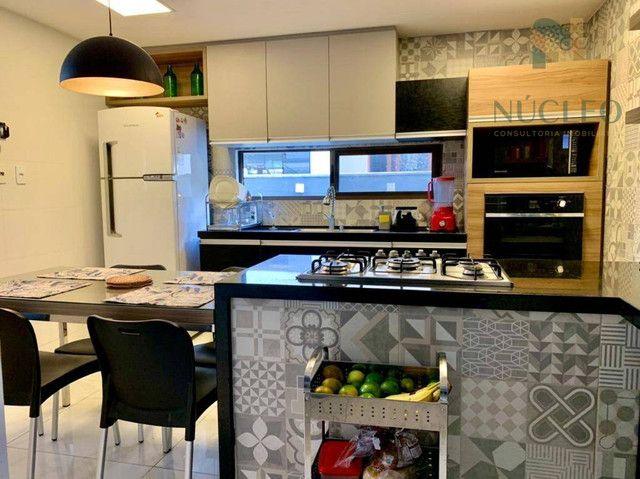 Casa de condomínio com 5 suítes à venda, 340 m² por R$ 1.700.000 - Intermares - Cabedelo/P - Foto 4