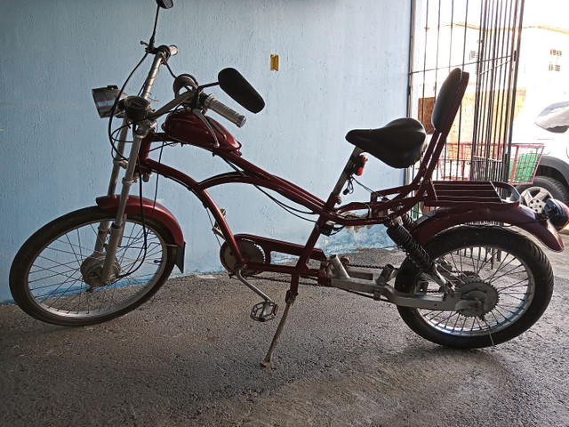 Linda bicicleta artesanal - Foto 2