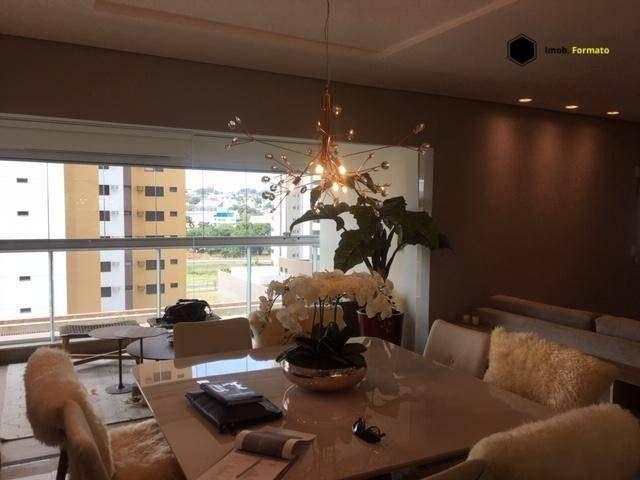 Apartamento Mobiliado com 3 suítes à venda, 142 m² por R$ 1.600.000 - Royal Park - Campo G - Foto 4