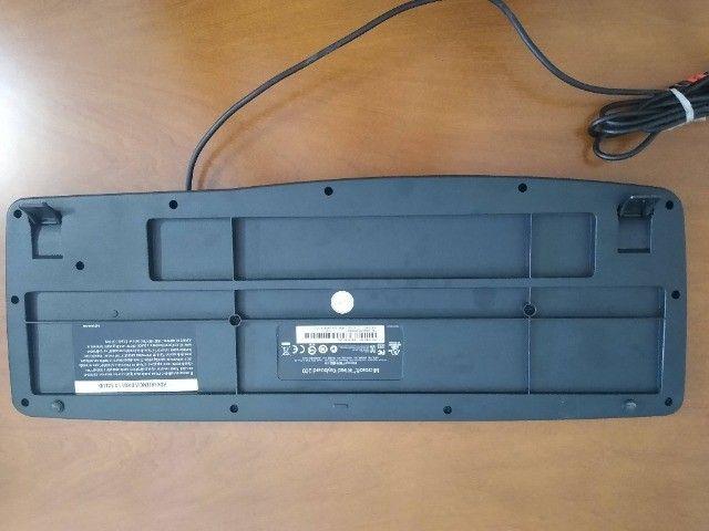 Teclado Microsoft Wired Keyboard 200 Preto - Foto 3
