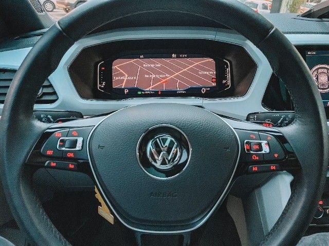 VW T-Cross (2020) Cinza - Versão TOP de Linha Highline com Parl Assist, Som Beats ! - Foto 12