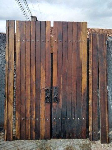 Porta dupla imbuia maciça 1,40 x 2,35